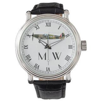 Montre Spitfire | décoré d'un monogramme