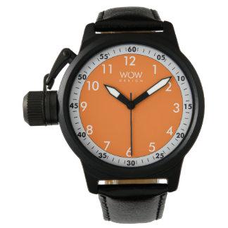 Montre Sport orange - 0407WM