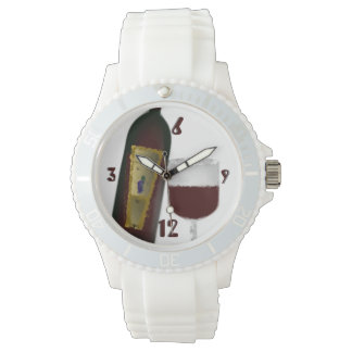 Montre Temps de vin rouge