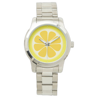 Montre Tranche juteuse mignonne de fruit tropical de