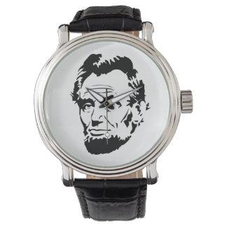 Montre vintage d'Abraham Lincoln