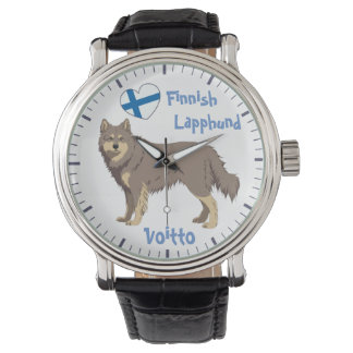Montre Watch finlandais Lapphund lilac Lapinkoira