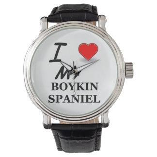 Montres Bracelet amour d'épagneul de boykin