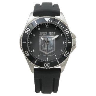 Montres Bracelet Bouclier métallique de la ligue de justice | JL
