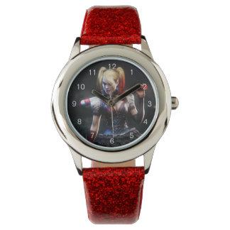 Montres Bracelet Chevalier de Batman Arkham   Harley Quinn avec la