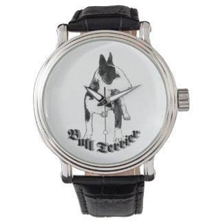 Montres Bracelet Chien de bull-terrier