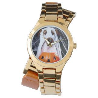 Montres Bracelet Chien de fantôme - chien drôle - poursuivez