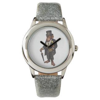 Montres Bracelet Chimpanzé drôle - rétro singe - monkey le