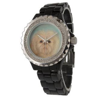 Montres Bracelet chiot, chien, chiots, tzu de shih, animal,