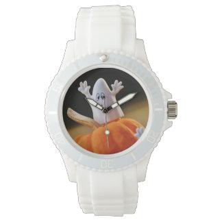 Montres Bracelet Citrouille et fantôme - fantôme drôle - citrouille