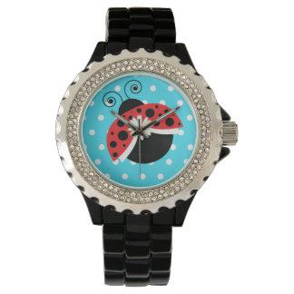 Montres Bracelet Coccinelle de montre-bracelet de marguerite de