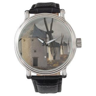 Montres Bracelet Consuegra, moulins à vent antiques 6 de Mancha de