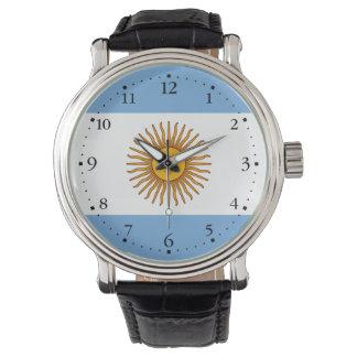 Montres Bracelet Drapeau argentin patriotique