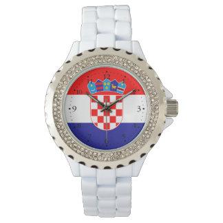 Montres Bracelet Drapeau croate patriotique