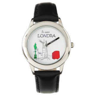 Montres Bracelet Élégant unique d'Italien d'amour drôle de Londra
