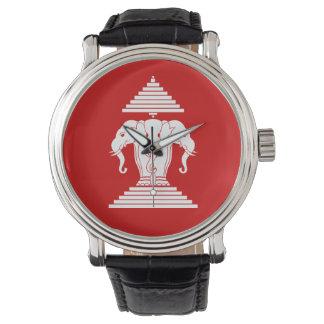 Montres Bracelet Erawan trois a dirigé le Laotien