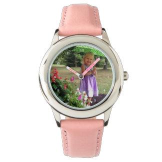 Montres Bracelet Famille faite sur commande ou image personnalisée