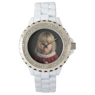 Montres Bracelet Fille de Noël - enfant de Noël - fille mignonne