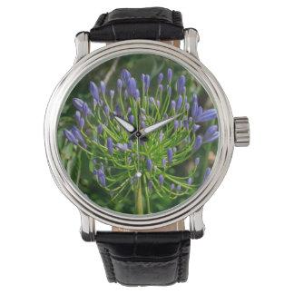 Montres Bracelet Fleur sauvage coloré du jardin dans mon esprit