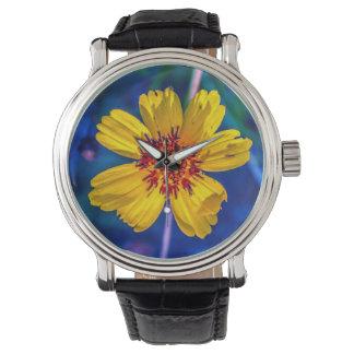 Montres Bracelet Fleur sauvage du Texas du jardin dans mon esprit