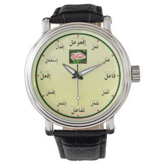 Montres Bracelet Formes arabes de verbe