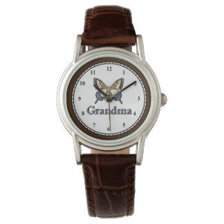 Montres Bracelet Grand-maman du papillon BRBL