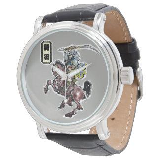 Montres Bracelet héros chinois,  関羽 avec le 赤兎馬 de Sekitoma