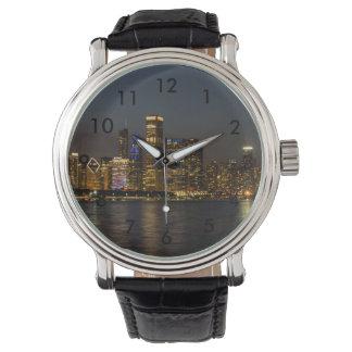 Montres Bracelet Horizon Chicago Pano de nuit