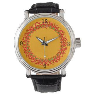 Montres Bracelet Horloge d'homme Fire oranges