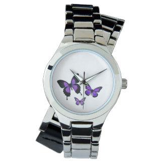Montres Bracelet La montre-bracelet enveloppante imprimée des