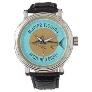 Montres Bracelet La pêche marine détendent et apprécient
