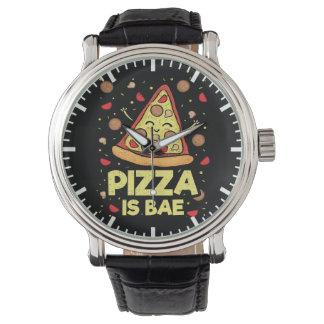 Montres Bracelet La pizza est Bae - bande dessinée drôle -
