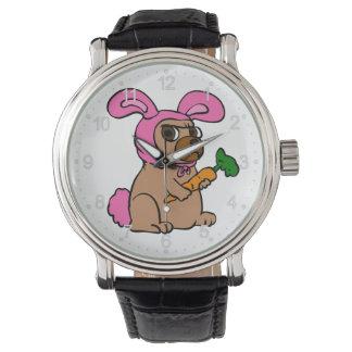 Montres Bracelet Lapin de costume de chien