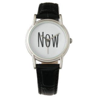 """Montres Bracelet Le cool """"maintenant"""" observent"""