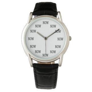 Montres Bracelet Le temps est MAINTENANT montre-bracelet