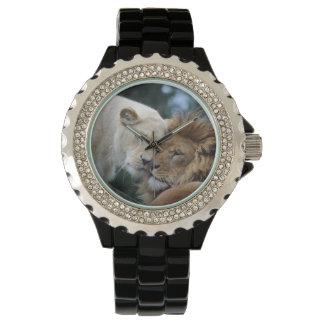 Montres Bracelet Lion et lionne