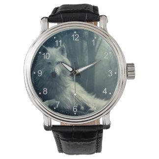 Montres Bracelet Loup arctique - loup de forêt - loup de neige -