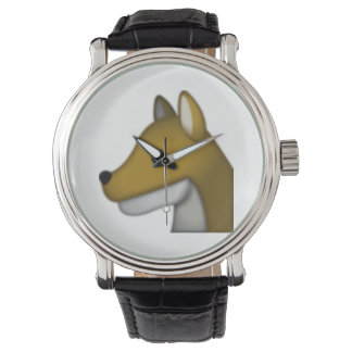 Montres Bracelet Loup - Emoji