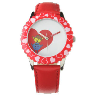 Montres Bracelet Love watch P and E