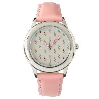 Montres Bracelet Madame romantique chic gracieuse rose mignonne