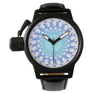 Montres Bracelet Mandala tribal de poisson-marteau d'Ombre