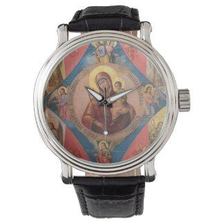Montres Bracelet Mary, Jésus, et anges