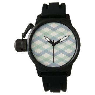 Montres Bracelet Motif géométrique en pastel extérieur d'étape | de