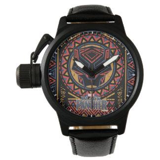 Montres Bracelet Motif tribal de tête de panthère de la panthère