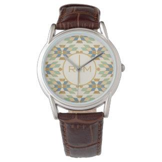 Montres Bracelet Motif tribal extérieur d'étape | de Geo