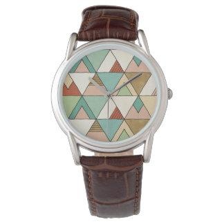 Montres Bracelet Motif tribal tiré par la main d'étape | de Geo de