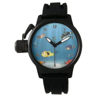 Montres Bracelet Océans des poissons
