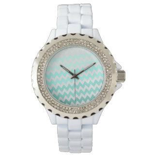 Montres Bracelet Ombre adorable, zigzag, motif de Chevron