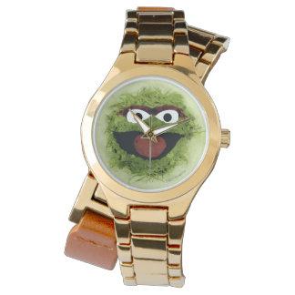 Montres Bracelet Oscar la tendance d'aquarelle du rouspéteur |
