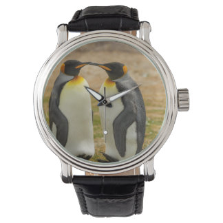 Montres Bracelet Paires du Roi pingouins, Malouines